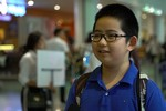 Cậu bé nhỏ tuổi nhất tại Olympic Vật lý châu Á 2018 giành huy chương Đồng