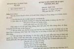Đề thi và gợi ý đáp án môn Ngữ văn vào lớp 10 của Hà Nội