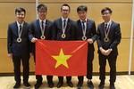 Cả 5/5 thí sinh đều đoạt Huy chương Olympic Vật lí quốc tế 2018
