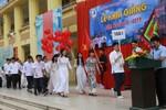 """Trường phổ thông mang tên """"vua Đinh'"""" khai giảng năm học mới"""