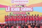 2.000 học trò trường Tiểu học Lê Quý Đôn tưng bừng chào đón năm học mới
