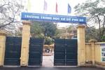 Hiệu trưởng bị tố sai phạm, Trường cấp 2 Phú Đô không làm việc với phóng viên
