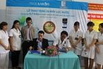 Bệnh nhân Bệnh viện E, Hà Nội đón nhận 4,7 triệu lít nước tinh khiết