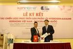 Korihome trở thành đối tác đồng phát triển thương hiệu với Biocera Hàn Quốc