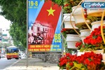 Thủ đô Hà Nội rực rỡ cờ hoa chào mừng kỷ niệm 68 năm ngày Quốc khánh