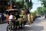 Cựu chiến binh Tây Trường Sơn đến viếng Đại tướng bằng xe thương binh
