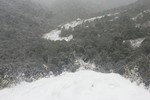 Sa Pa và Ý Tý (Lào Cai) xuất hiện mưa tuyết