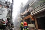 Hà Nội: Hơn 300 m2 nhà hàng thịt thú rừng bị cháy rụi