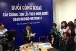 Tòa Hà Nội công khai xin lỗi người dân chịu oan sai hơn 10 năm
