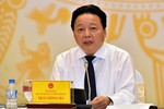 Bộ trưởng Trần Hồng Hà nói chưa thấy phản ánh tiêu cực nào về Cục phó mất trộm