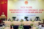 Tổng Bí thư và nhiều Ủy viên Bộ Chính trị đang dự phiên họp của Chính phủ