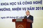 Thủ tướng nêu 3 đột phá, 4 trụ cột, 5 lưu ý với Bộ Khoa học và Công nghệ