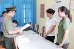 Năm nay, phòng chứa bài thi được công an bảo vệ, giám sát 24/24