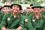Khối trường quân sự không tuyển thí sinh có hình xăm, chữ xăm