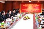 Trưởng Ban Kinh tế Trung ương hội đàm cùng Đoàn đại biểu cấp cao Lào
