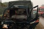 Một CSGT nguy kịch vì xe tải lao thẳng vào người