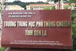 """Lộ diện nhiều thí sinh con """"ông to bà lớn"""" có điểm thi cao bất thường tại Sơn La"""
