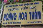Trường Hoàng Hoa Thám tổ chức học hè khác chỉ đạo của Sở giáo dục Hà Nội