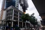 Cháy FLC Twin Towers, nhiều người hoảng sợ