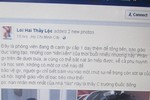 Một giáo viên Trường Nguyễn Du bị khởi kiện vì xúc phạm người khác trên facebook