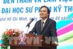 Bộ trưởng Phùng Xuân Nhạ trả lời câu hỏi về cách mạng công nghiệp 4.0