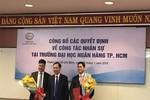 Trường Đại học Ngân hàng Thành phố Hồ Chí Minh có 2 lãnh đạo mới