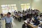 Bài thi trắc nghiệm môn Toán, học sinh cần làm theo 4 vòng