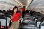 Tiếp viên VietjetAir nhảy Gangnam Style trên chuyến bay đầu Xuân