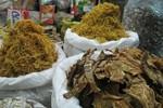 """Măng khô """"3 không"""" ở chợ Đồng Xuân, để cả năm không hỏng"""