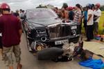 Diễn biến mới của vụ siêu xe Rolls-Royce Phantom rồng đâm chết 2 người