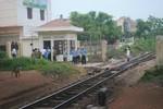 Nam thanh niên tử vong vì lao đầu vào đoàn tàu hỏa đang chạy