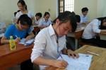 Nghệ An: 69 thí sinh vắng mặt trong môn thi Ngữ Văn