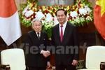 Nhà vua và Hoàng hậu Nhật Bản hội kiến Chủ tịch nước Trần Đại Quang