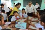 Giáo viên Quảng Ngãi học hỏi được nhiều từ thao giảng cụm