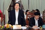 Bộ trưởng Nhạ yêu cầu tiếp thu đầy đủ các ý kiến góp ý cho chương trình tổng thể