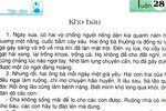 """Văn phong trong bài đọc """"Kho báu"""" trong Tiếng Việt 2 không có gì sai"""