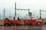 EVNNPC nỗ lực khắc phục sự cố tại trạm biến áp 110kV Yên Bình 2, Thái Nguyên