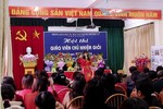 Đề nghị Bộ xóa bỏ cuộc thi giáo viên chủ nhiệm giỏi