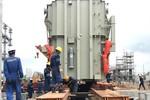 Lắp đặt Máy biến áp chính Tổ máy số 2 Dự án Nhà máy Nhiệt điện Sông Hậu 1