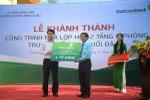 Vietcombank khánh thành và bàn giao công trình Trường Tiểu học Suối Đá A