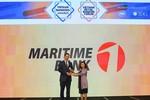 Maritime Bank nhận giải thưởng Ngân hàng đồng hành cùng doanh nghiệp vừa và nhỏ