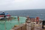 Giàn Hải Thạch - Mộc Tinh: Đóng mỏ vì bão TEMBIN