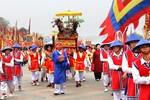 Lễ hội Đền Hùng 2018: Lễ rước kiệu, dâng lễ vật cung tiến Tổ tiên