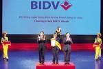 Sao Khuê 2018 vinh danh 2 sản phẩm của BIDV