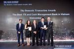 Vietcombank được The Asian Banker trao tặng hai giải thưởng