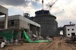 Sự cố đổ tường vách tại dự án Nhà máy Nhiệt điện Sông Hậu 1