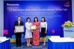 Panasonic được trao kỷ niệm chương vì sự nghiệp giáo dục