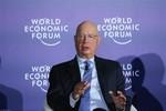 Bộ trưởng Chu Ngọc Anh tiếp Chủ tịch điều hành Diễn đàn kinh tế thế giới