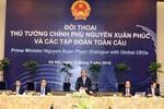 Thủ tướng Nguyễn Xuân Phúc đối thoại với các tập đoàn hàng đầu