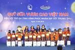 Vinamilk tặng trẻ em tỉnh Vĩnh Phúc 66.000 ly sữa nhân dịp Tết Trung thu
